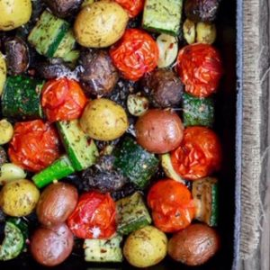 Roasted Potatoes or Root Vegetable Medley