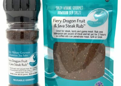 Fiery Dragon Fruit & Java Steak Rub *Award Winner*