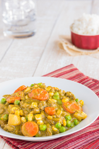 Hamburger Island Curry Stew